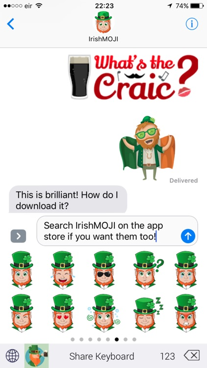 IrishMoji Magic screenshot-3