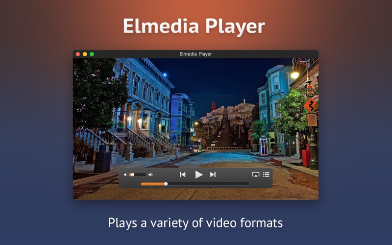 Elmedia:universal video player