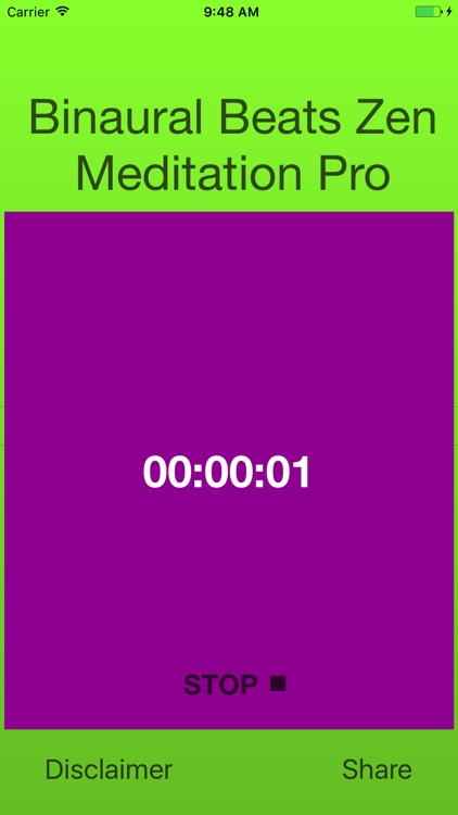 Binaural Zen Meditation Pro screenshot-2