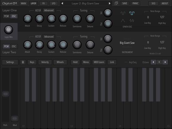 AudioKit Digital D1 Synth screenshot #4