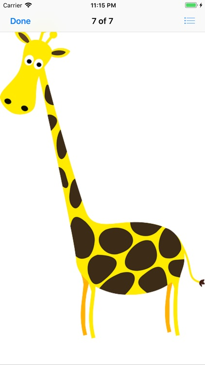 My Giraffe Sticker Pack screenshot-9