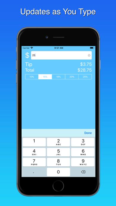 Blue Tip Gratuity Calculator 2