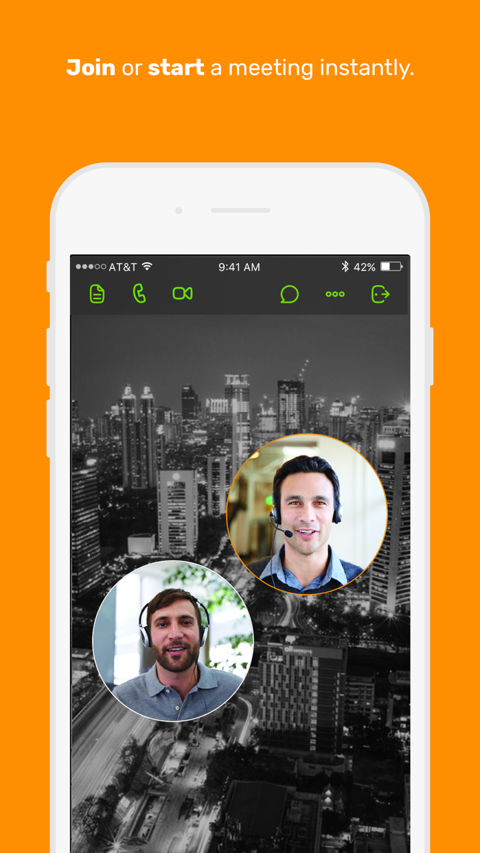 join.me - Simple Meetings Screenshot