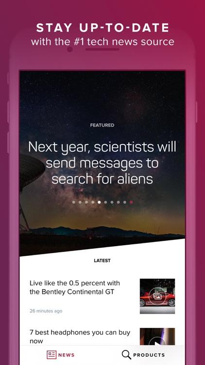 CNET: Best Tech News & Reviews screenshot-0
