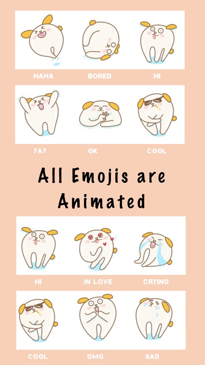 Dog Lovers Animated Emoji Stickers