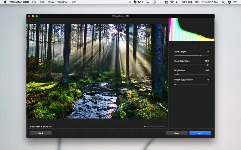 WidsMob HDR-HDR Photo Editor Screenshots