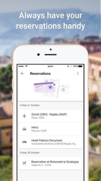 Screenshot 3 for Google Flights's iPhone app'