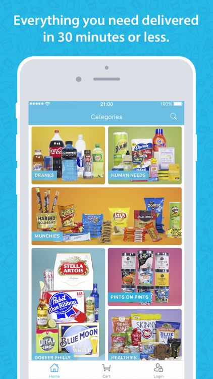 goPuff: Delivery of Snacks, Essentials & Ice Cream screenshot-0