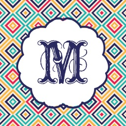 Wallpaper for Monogram Pattern & Backgrounds