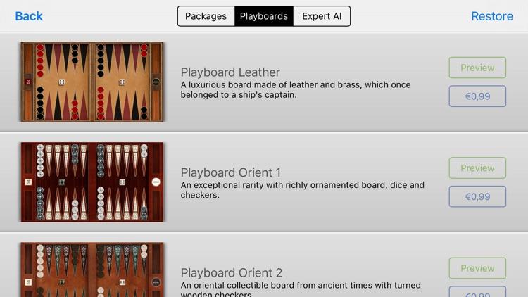 True Backgammon HD screenshot-4
