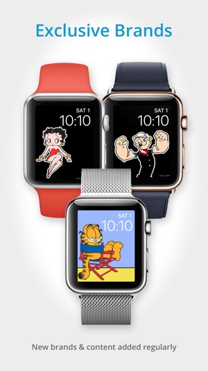 Facer watch faces on the app store iphone apple watch urtaz Image collections