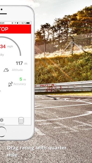 SpeedBox Performance Tracking Screenshots