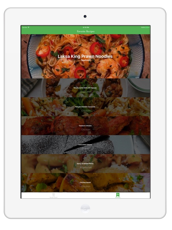 Screenshot #2 for Easy Meal Recipes Menu Planner