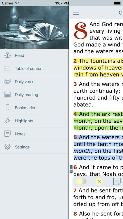 New King James Version Bible screenshot-2