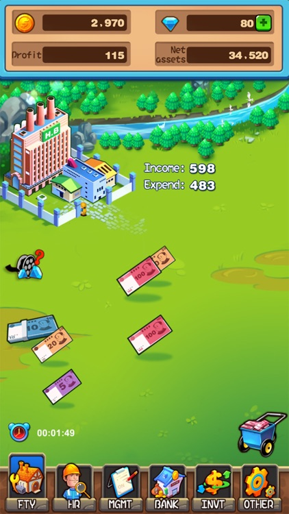 Money Quest Nostalgic screenshot-0