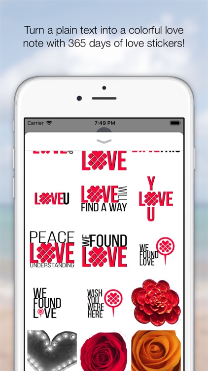365 Days of Love Stickers