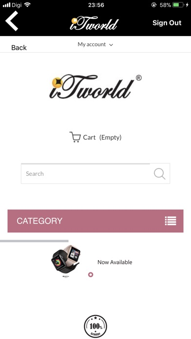 Screenshot for iTworld in United States App Store