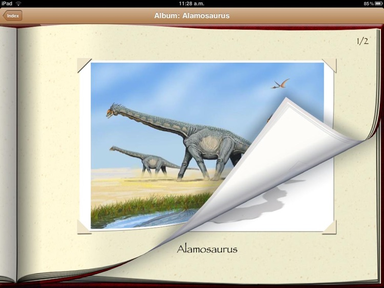 Dinosaur Book HD Lite: iDinobook screenshot-3