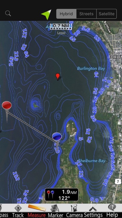 Lake Champlain Nautical Charts