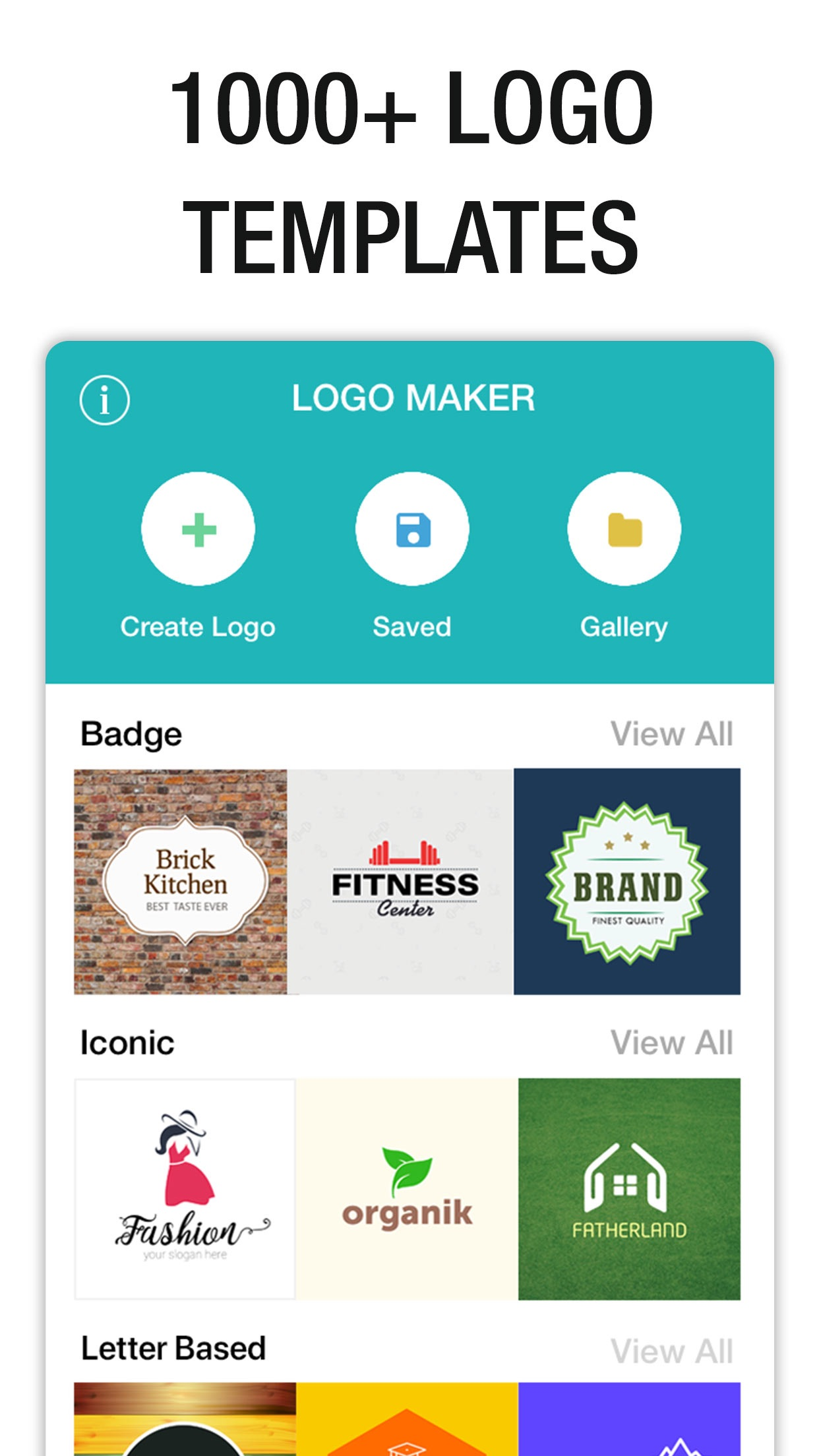 Logo Maker- Create a design Screenshot