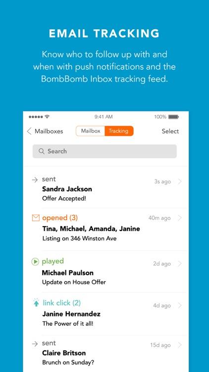 BombBomb Inbox screenshot-3