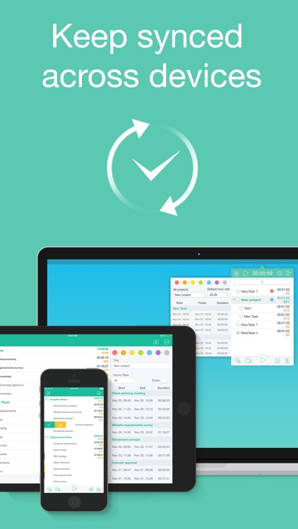 Chrono Plus – Time Tracker screenshot-4