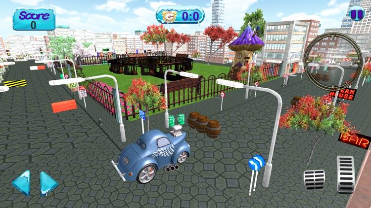 City Car Driving 3D Simulator screenshot-4