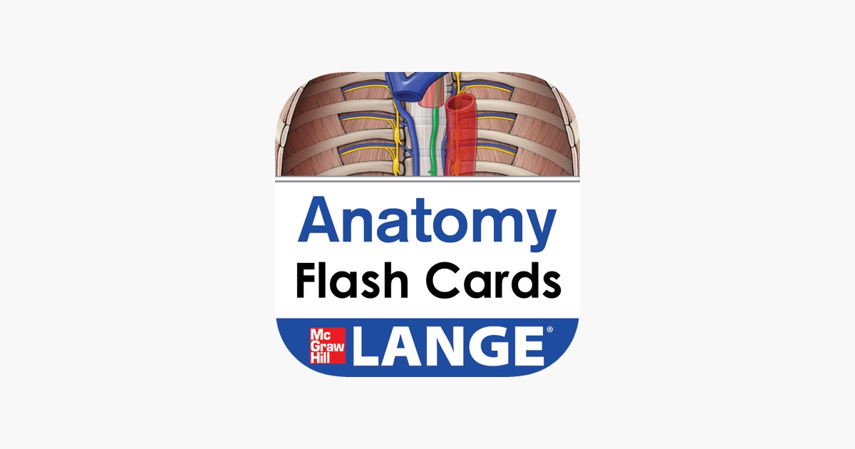 Lange Anatomy Flash Cards on the App Store
