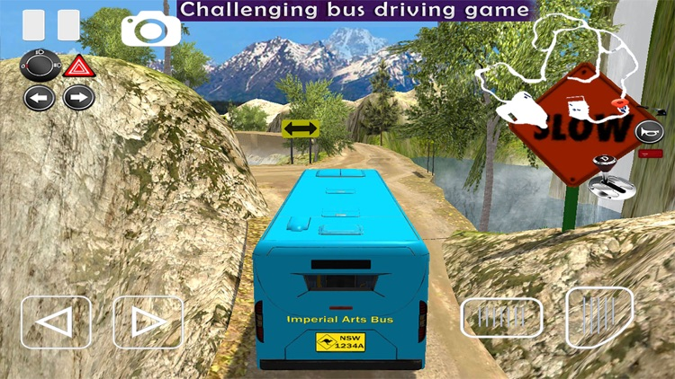 Off-road Bus Driving Simulator screenshot-3