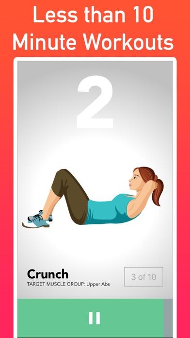 30 Day Ab Challenge at Home screenshot three