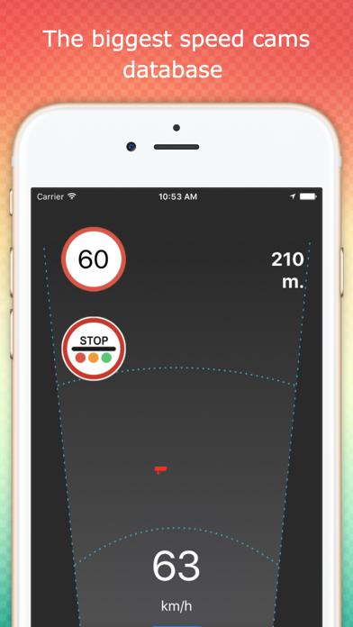 Speedcams premium road detect Screenshots