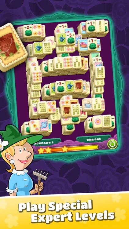 Mahjong Flower Garden screenshot-4