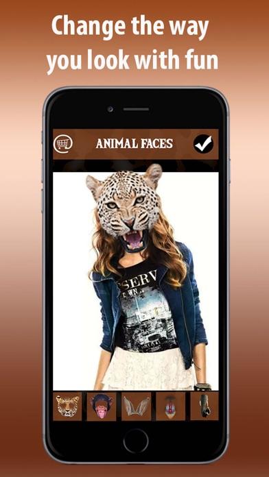Animal Face Funny Photo Maker Screenshot