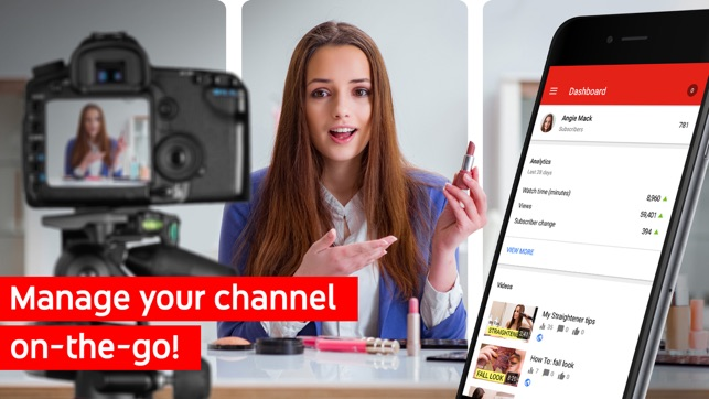 Youtube Studio On The App Store