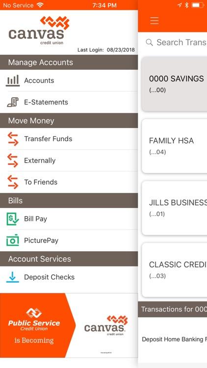Canvas Credit Union screenshot-3