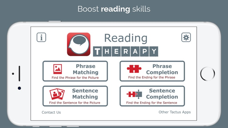 Reading Therapy screenshot-0