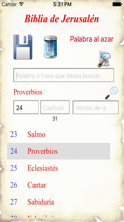 Biblia de Jerusalén screenshot-0