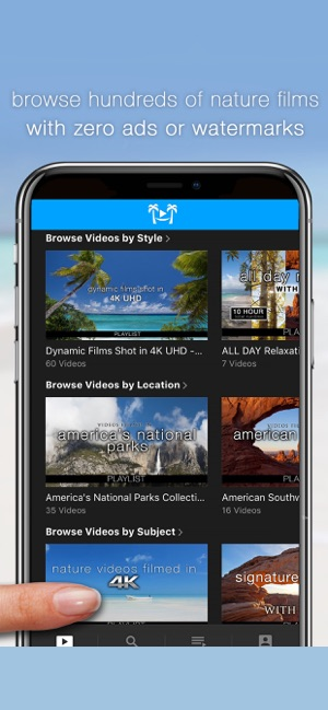 Nature Relaxation On-Demand su App Store