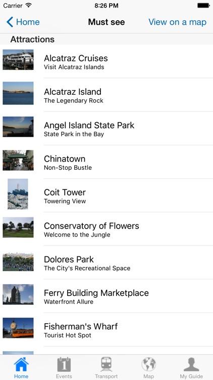 San Francisco Travel Guide OL screenshot-3