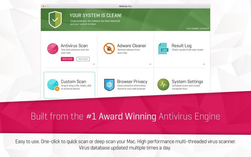 BitMedic AntiVirus Lite Screenshot