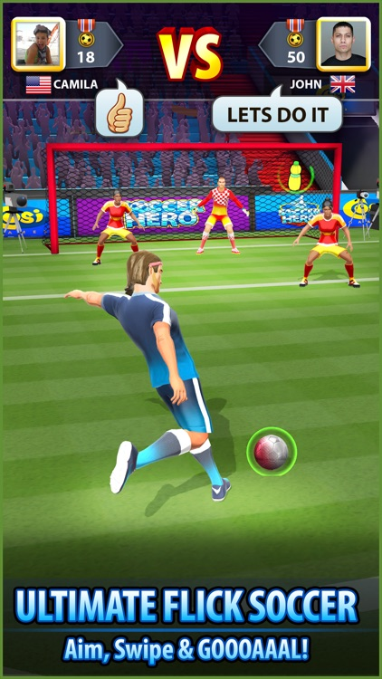 Soccer! Hero screenshot-1