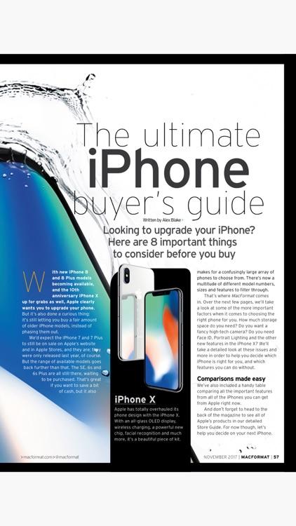 MacFormat: the Mac, iPad, iPhone & Apple magazine screenshot-3