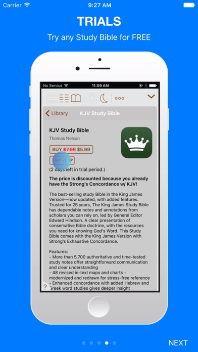 Holy Bible King James + Audio for Windows