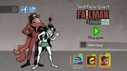 Troll Face Quest: Failman screenshot 1