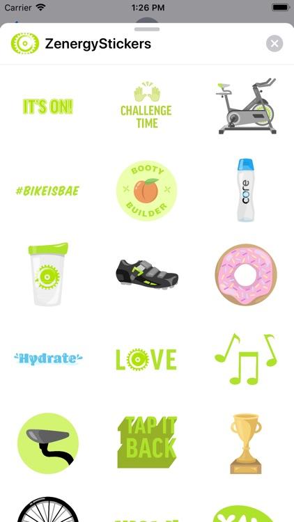 Zenergy Stickers
