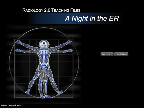 Radiology 2.0: One Night in the ED - iPad Version screenshot one