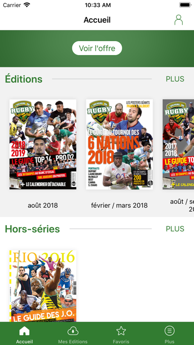 Univers du Rugby Screenshot