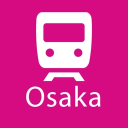 Osaka Rail Map Lite