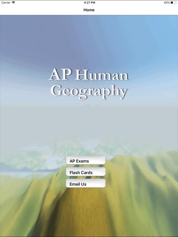 AP Human Geography Buddy Screenshots