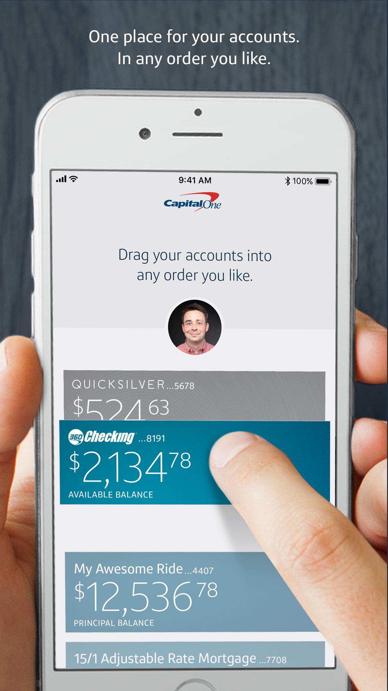Capital One Mobile Screenshot